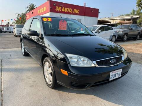 2007 Ford Focus for sale at 3K Auto in Escondido CA