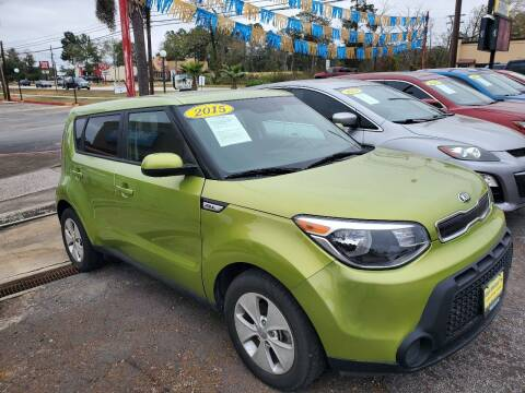 2015 Kia Soul for sale at Abel Motors, Inc. in Conroe TX