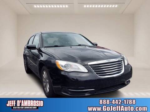 2012 Chrysler 200 for sale at Jeff D'Ambrosio Auto Group in Downingtown PA