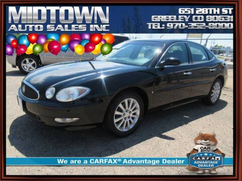 2007 Buick LaCrosse for sale at MIDTOWN AUTO SALES INC in Greeley CO