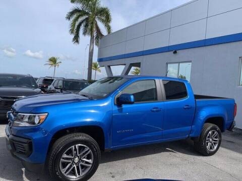 2021 Chevrolet Colorado for sale at Niles Sales and Service in Key West FL