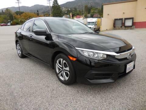 2018 Honda Civic for sale at ARAX AUTO SALES in Tujunga CA