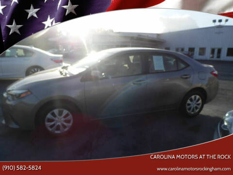 2017 Toyota Corolla for sale at Carolina Motors at the Rock - Carolina Motors-Thomasville in Thomasville NC