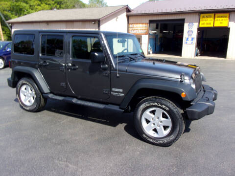 2018 Jeep Wrangler JK Unlimited for sale at Dave Thornton North East Motors in North East PA