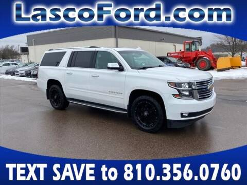 2016 Chevrolet Suburban for sale at Lasco of Grand Blanc in Grand Blanc MI
