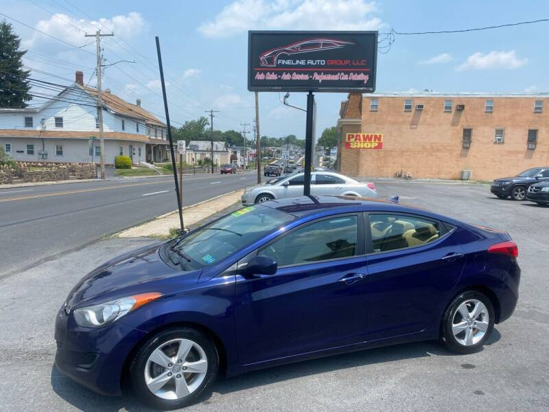 2013 Hyundai Elantra for sale at Fineline Auto Group LLC in Harrisburg PA