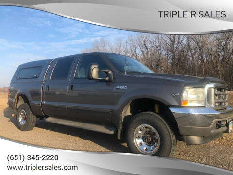 2002 Ford F-250 Super Duty for sale at Triple R Sales in Lake City MN