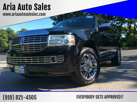 2007 Lincoln Navigator for sale at ARIA  AUTO  SALES in Raleigh NC
