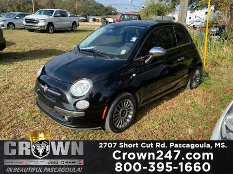 2013 FIAT 500 for sale at CROWN  DODGE CHRYSLER JEEP RAM FIAT in Pascagoula MS