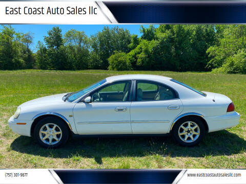 2002 Mercury Sable for sale at East Coast Auto Sales llc in Virginia Beach VA