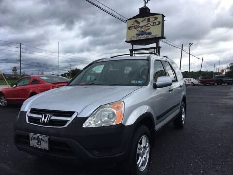 2003 Honda CR-V for sale at A & D Auto Group LLC in Carlisle PA