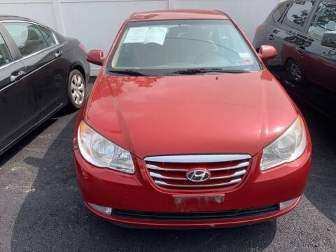 2010 Hyundai Elantra for sale at Park Avenue Auto Lot Inc in Linden NJ