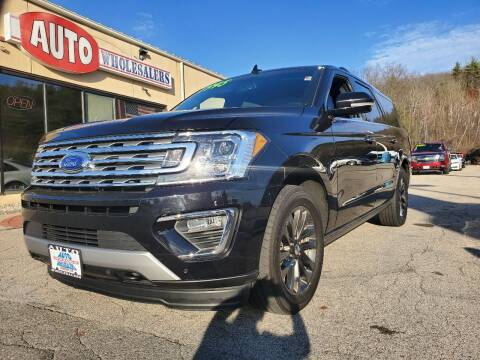 2019 Ford Expedition MAX for sale at Auto Wholesalers Of Hooksett in Hooksett NH