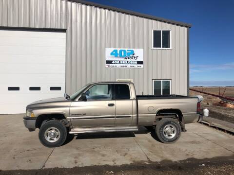 2002 Dodge Ram Pickup 2500 for sale at 402 Autos in Lindsay NE