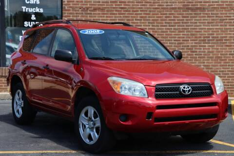 2008 Toyota RAV4 for sale at Hobart Auto Sales in Hobart IN