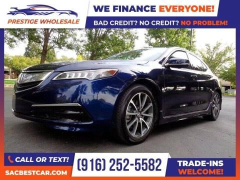 2016 Acura TLX for sale at Prestige Wholesale in Sacramento CA