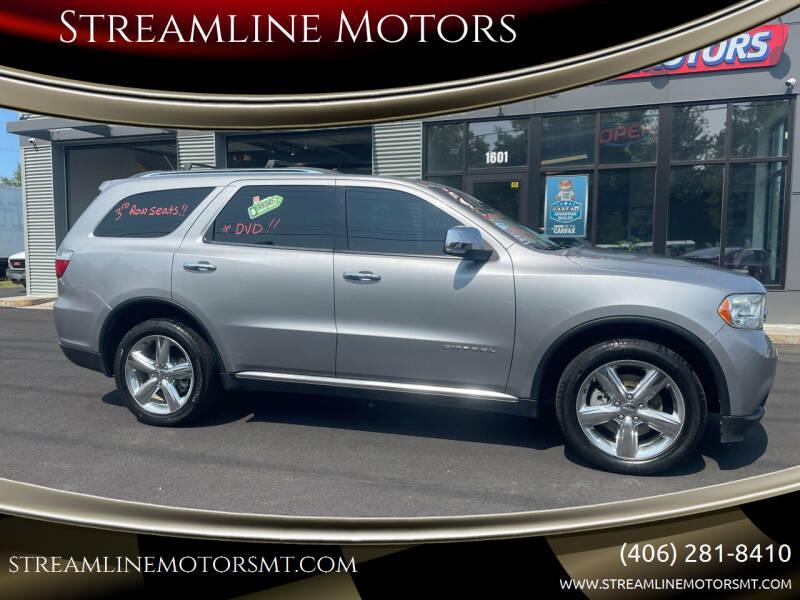 2013 Dodge Durango for sale at Streamline Motors in Billings MT