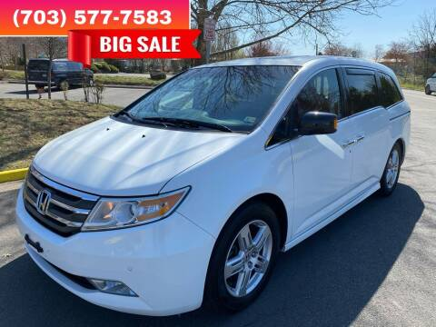 2011 Honda Odyssey for sale at Dreams Auto Group LLC in Sterling VA
