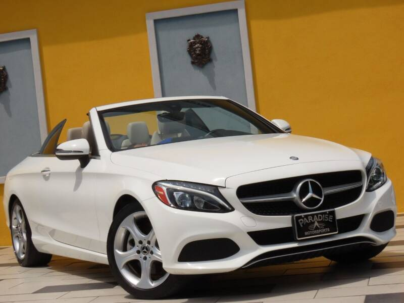 2017 Mercedes-Benz C-Class for sale at Paradise Motor Sports LLC in Lexington KY