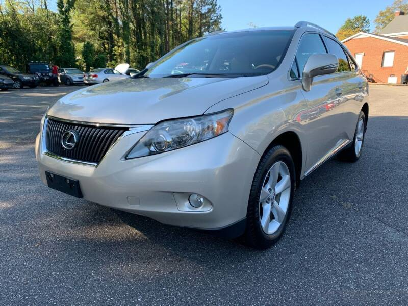 2011 Lexus RX 350 for sale at Triangle Motors Inc in Raleigh NC