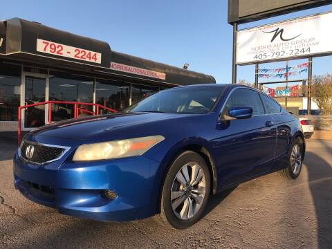 2008 Honda Accord for sale at NORRIS AUTO SALES in Oklahoma City OK
