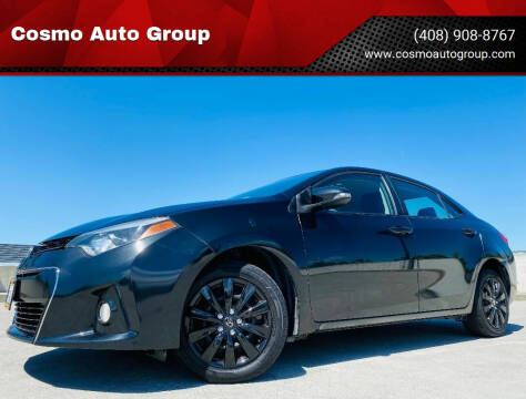 2014 Toyota Corolla for sale at Cosmo Auto Group in San Jose CA