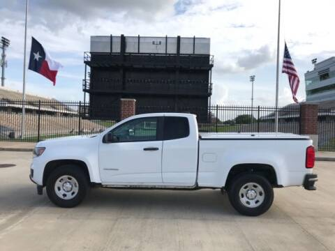 2016 Chevrolet Colorado for sale at ALL AMERICAN FINANCE AND AUTO in Houston TX
