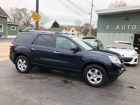 2012 GMC Acadia for sale at SHEFFIELD MOTORS INC in Kenosha WI