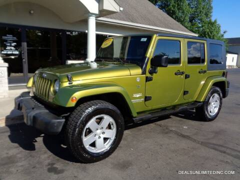 2007 Jeep Wrangler Unlimited for sale at DEALS UNLIMITED INC in Portage MI