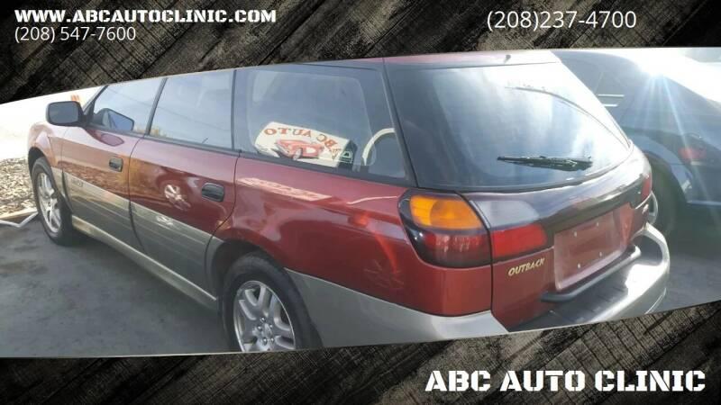 2003 Subaru Outback for sale at ABC AUTO CLINIC - Chubbuck in Chubbuck ID