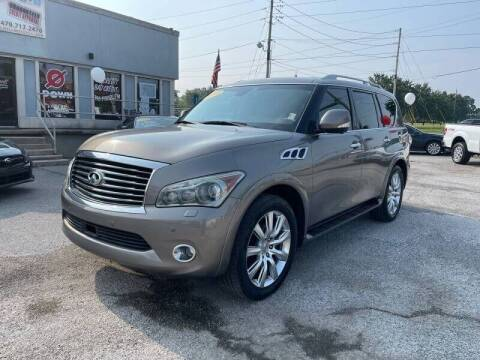 2013 Infiniti QX56 for sale at Bagwell Motors in Lowell AR