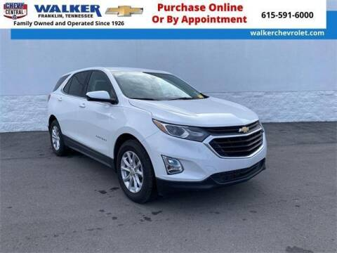 2019 Chevrolet Equinox for sale at WALKER CHEVROLET in Franklin TN