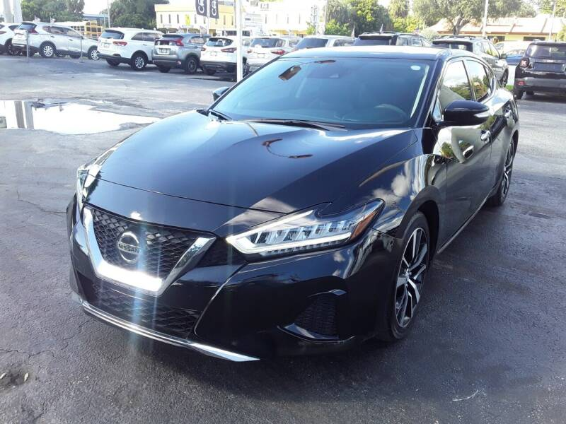 2021 Nissan Maxima for sale at YOUR BEST DRIVE in Oakland Park FL