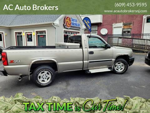 2003 Chevrolet Silverado 1500 for sale at AC Auto Brokers in Atlantic City NJ