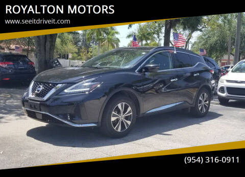2020 Nissan Murano for sale at ROYALTON MOTORS in Plantation FL
