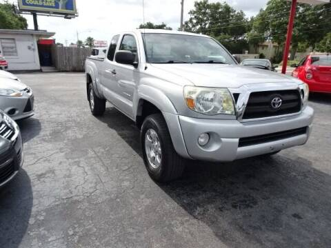 2007 Toyota Tacoma for sale at DONNY MILLS AUTO SALES in Largo FL