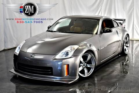2007 Nissan 350Z for sale at ZONE MOTORS in Addison IL
