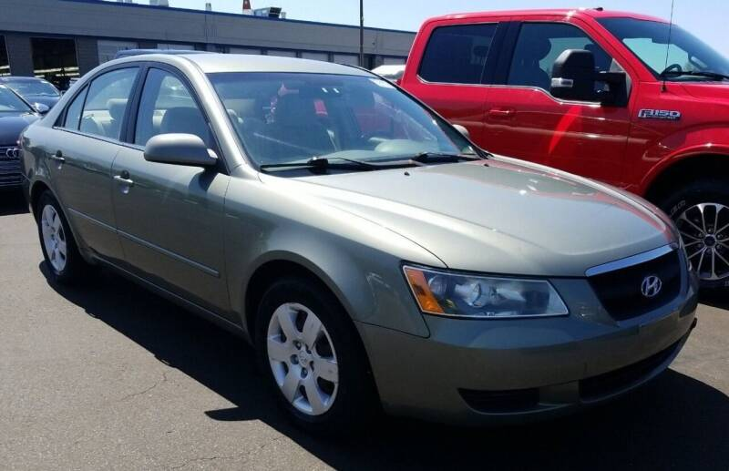 2007 Hyundai Sonata for sale at Angelo's Auto Sales in Lowellville OH