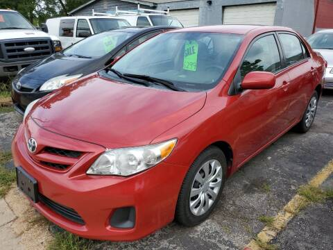 2012 Toyota Corolla for sale at Best Deal Motors in Saint Charles MO