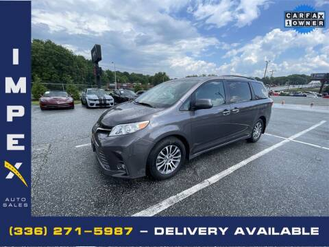 2019 Toyota Sienna for sale at Impex Auto Sales in Greensboro NC