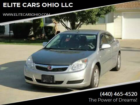 2008 Saturn Aura for sale at ELITE CARS OHIO LLC in Solon OH