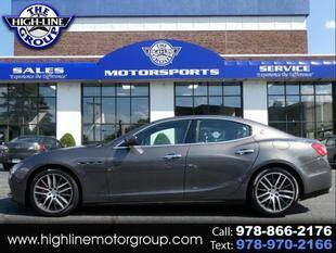 2017 Maserati Ghibli for sale at Highline Group Motorsports in Lowell MA
