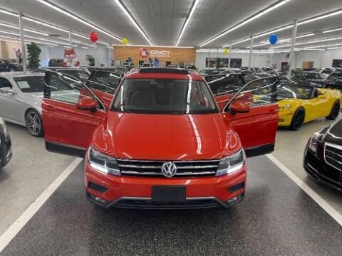 2018 Volkswagen Tiguan for sale at Dixie Motors in Fairfield OH