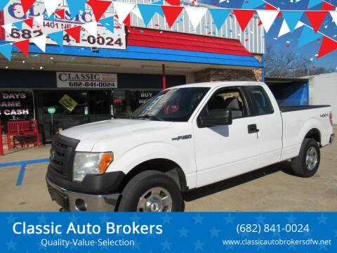 2011 Ford F-150 for sale at Classic Auto Brokers in Haltom City TX
