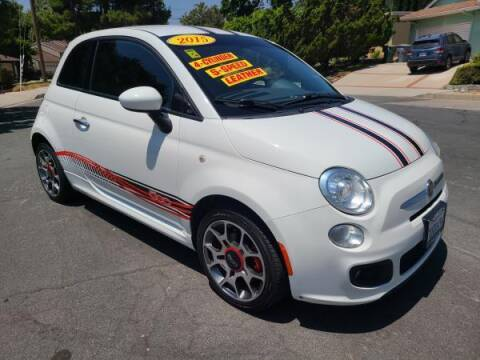2015 FIAT 500 for sale at CAR CITY SALES in La Crescenta CA