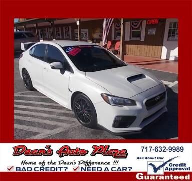 2015 Subaru WRX for sale at Dean's Auto Plaza in Hanover PA
