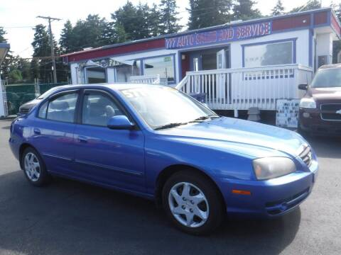 2004 Hyundai Elantra for sale at 777 Auto Sales and Service in Tacoma WA