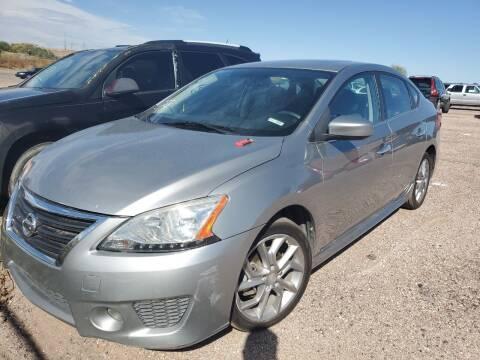 2014 Nissan Sentra for sale at PYRAMID MOTORS - Pueblo Lot in Pueblo CO