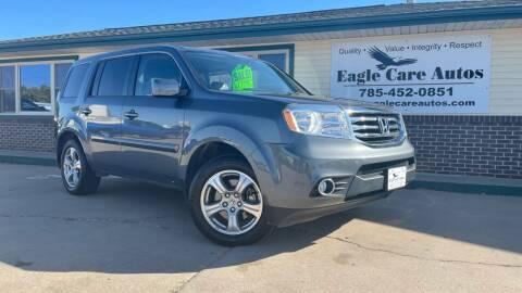2013 Honda Pilot for sale at Eagle Care Autos in Mcpherson KS