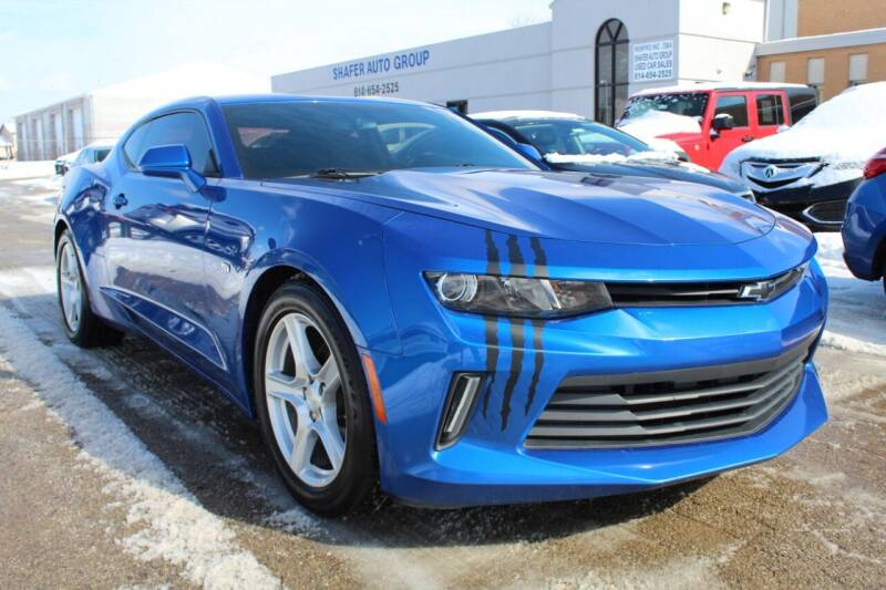 2017 Chevrolet Camaro for sale at SHAFER AUTO GROUP in Columbus OH